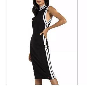 N:Philanthropy Black corey midi dress size Small
